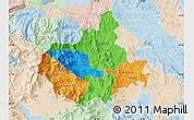 Political Map of Titov Veles, lighten
