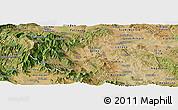 Satellite Panoramic Map of Titov Veles