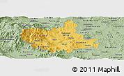 Savanna Style Panoramic Map of Titov Veles