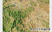 Satellite Map of Veles