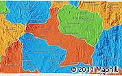 Political 3D Map of Ambatolampy