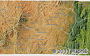 Satellite 3D Map of Ambatolampy