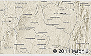 Shaded Relief 3D Map of Ambatolampy