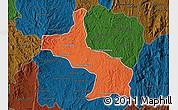 Political Map of Ambatolampy, darken