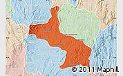 Political Map of Ambatolampy, lighten