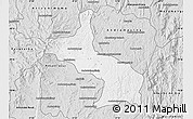 Silver Style Map of Ambatolampy
