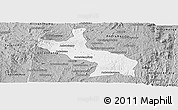 Gray Panoramic Map of Ambatolampy