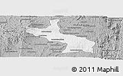 Gray Panoramic Map of Ambatolampy