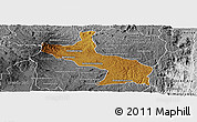 Physical Panoramic Map of Ambatolampy, desaturated