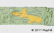 Savanna Style Panoramic Map of Ambatolampy