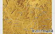 Physical Map of Ambohidratrimo
