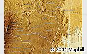 Physical Map of Andramasina