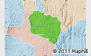 Political Map of Andramasina, lighten
