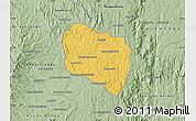 Savanna Style Map of Andramasina