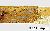 Physical Panoramic Map of Andramasina