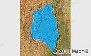 Political Map of Anjozorobe, satellite outside