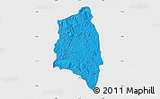 Political Map of Anjozorobe, single color outside