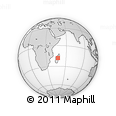 Outline Map of Anjozorobe