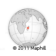 Outline Map of Ankazobe