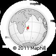 Outline Map of Antananarivo-Nord