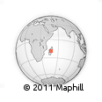 Outline Map of Antananarivo-Sud
