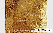 Physical Map of Antanifotsy