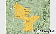 Savanna Style Map of Antanifotsy