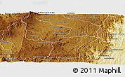 Physical Panoramic Map of Antanifotsy