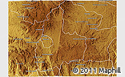 Physical 3D Map of Antsirabe Rural