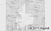 Silver Style Map of Antsirabe Rural