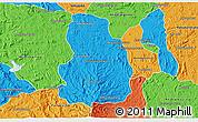 Political 3D Map of Arivonimamo