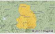 Savanna Style 3D Map of Arivonimamo
