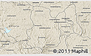 Shaded Relief 3D Map of Arivonimamo
