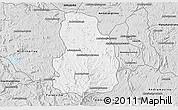 Silver Style 3D Map of Arivonimamo