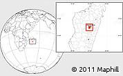 Blank Location Map of Arivonimamo