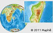 Physical Location Map of Arivonimamo