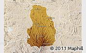 Physical Map of Arivonimamo, lighten