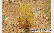 Physical Map of Arivonimamo, satellite outside