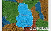 Political Map of Arivonimamo, darken