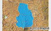 Political Map of Arivonimamo, satellite outside