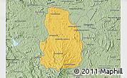 Savanna Style Map of Arivonimamo