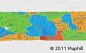 Political Panoramic Map of Arivonimamo