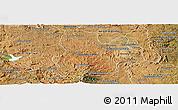 Satellite Panoramic Map of Arivonimamo