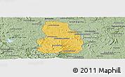 Savanna Style Panoramic Map of Arivonimamo