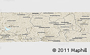 Shaded Relief Panoramic Map of Arivonimamo