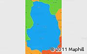 Political Simple Map of Arivonimamo