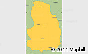 Savanna Style Simple Map of Arivonimamo