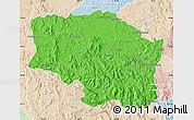 Political Map of Betafo, lighten