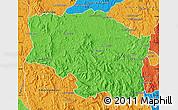 Political Map of Betafo