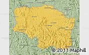 Savanna Style Map of Betafo